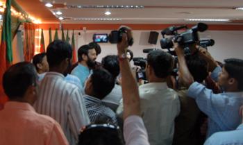 BJP sista presskonferensen
